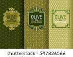 elegant set of design elements  ... | Shutterstock .eps vector #547826566