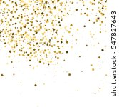 gold glitter texture isolated... | Shutterstock .eps vector #547827643
