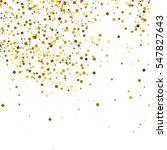 gold glitter texture isolated... | Shutterstock .eps vector #547827643
