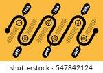 horizontal infographic timeline.... | Shutterstock .eps vector #547842124