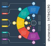 vector infographic of... | Shutterstock .eps vector #547842190