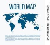 vector illustration of a world... | Shutterstock .eps vector #547849504