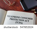 book with chapter the telephone ... | Shutterstock . vector #547852024