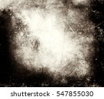 scratched grungy texture with... | Shutterstock . vector #547855030