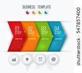 business infographics template... | Shutterstock .eps vector #547857400