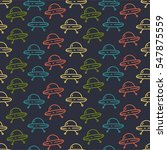 seamless vector pattern with... | Shutterstock .eps vector #547875559
