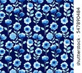watercolor seamless pattern... | Shutterstock . vector #547890484