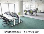 view of empty office | Shutterstock . vector #547901104