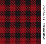 knitted seamless pattern... | Shutterstock .eps vector #547910914
