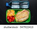 sandwich  small tomatoes ... | Shutterstock . vector #547922413