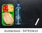 sandwich  small tomatoes ... | Shutterstock . vector #547923613