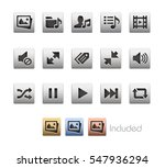 interface icons   the vector... | Shutterstock .eps vector #547936294