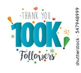 thank you design template for... | Shutterstock .eps vector #547948999