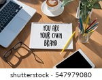 business branding word brand... | Shutterstock . vector #547979080