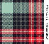 tartan plaid seamless pattern | Shutterstock .eps vector #547984519