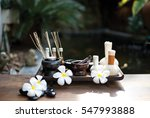 thai spa scrub treatment and... | Shutterstock . vector #547993888