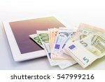 financial concept. make money...   Shutterstock . vector #547999216
