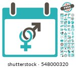 marriage calendar day... | Shutterstock .eps vector #548000320