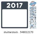 2017 year calendar template...   Shutterstock .eps vector #548012170