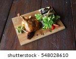 duck confit salad | Shutterstock . vector #548028610