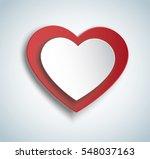 heart in heart shape icon....   Shutterstock . vector #548037163