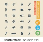 car service and repair icon... | Shutterstock .eps vector #548044744