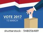 netherlands general election...   Shutterstock .eps vector #548056489