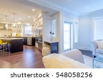 interior design of a luxury... | Shutterstock . vector #548058256