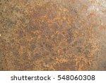 rusty metal otange background... | Shutterstock . vector #548060308