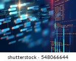 programming code abstract...   Shutterstock . vector #548066644