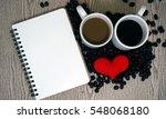 Red Heart Shape  Notebook  ...