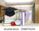 very blurry school hall... | Shutterstock . vector #548074234