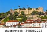 castle castelo de sao jorge... | Shutterstock . vector #548082223