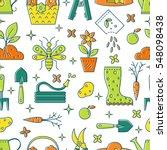 vector seamless pattern of... | Shutterstock .eps vector #548098438