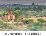 old bagan | Shutterstock . vector #548108884