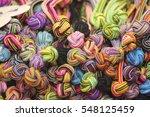 set hmong hill tribes | Shutterstock . vector #548125459