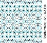 ethnic seamless pattern with...   Shutterstock .eps vector #548166148