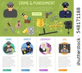 crime and punishment... | Shutterstock .eps vector #548171188