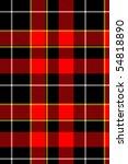 red plaid tartan pattern | Shutterstock . vector #54818890