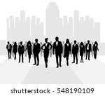 vector illustration of a many... | Shutterstock .eps vector #548190109