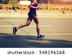 fitness male marathon runner... | Shutterstock . vector #548196268
