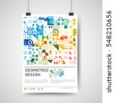 abstract colorful poster design ... | Shutterstock .eps vector #548210656