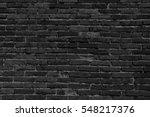black brick wall texture... | Shutterstock . vector #548217376