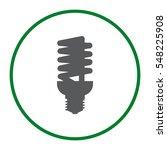 fluorescent lamp icon vector... | Shutterstock .eps vector #548225908