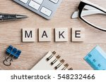 business workplace with office...   Shutterstock . vector #548232466