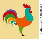 vector illustration of colorful ... | Shutterstock .eps vector #548234620