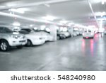 blured image of many cars in... | Shutterstock . vector #548240980
