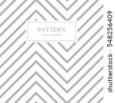 zigzag seamless minimalistic... | Shutterstock .eps vector #548256409