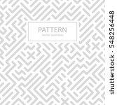 striped seamless geometric... | Shutterstock .eps vector #548256448
