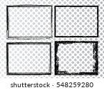 vector frames. rectangles for... | Shutterstock .eps vector #548259280